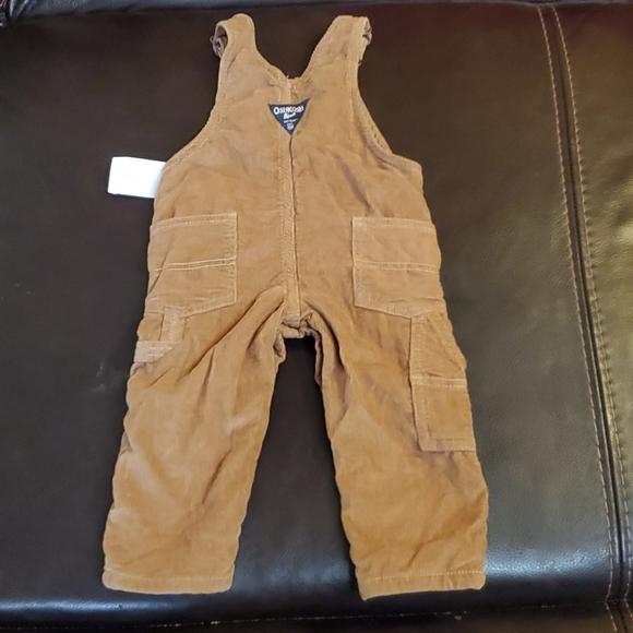 Oshkosh B'gosh boys overalls sz 12m never worn